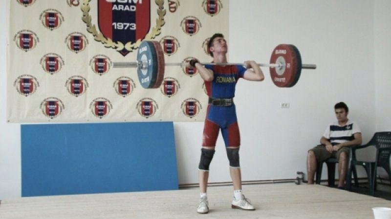 Şapte halterofili s-au calificat în finala de tineret
