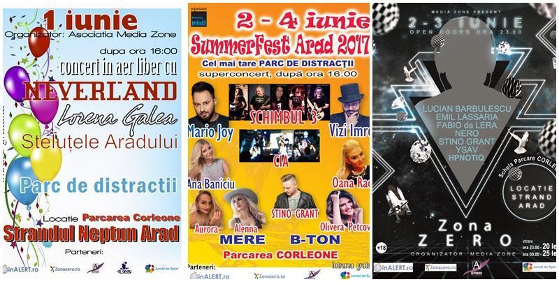 Summerfest Arad 2017, cel mai tare parc de distracţii din Arad, începe la 1 iunie