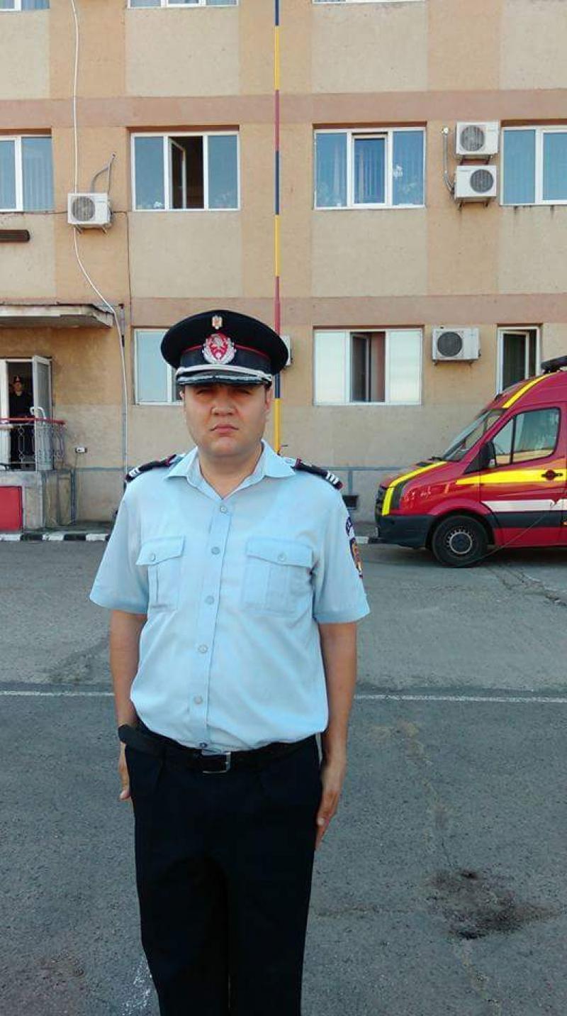 El este noul comandant al Detașamentului de Pompieri Arad !