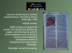 Summa praedicantium – exemplar unicat în România