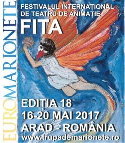 60 de spectacole invitate la Euromarionete Arad 2017!