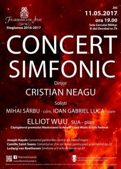 Concert de excepţie la Filarmonica din Arad