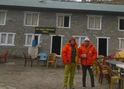 Zsolt Torok şi Vlad Căpuşan surprinși de avalanșă în Himalaya