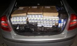 Transport ilegal de țigarete depistat de polițiști