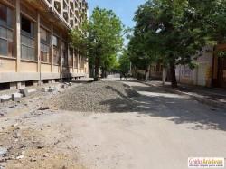 Au început lucrările de reabilitare pe strada Eminescu