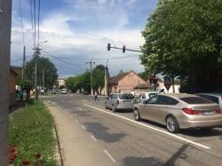 Semafoarele din intersecția străzilor Abatorului cu Ion Rațiu (Pădurii) au fost puse în funcţiune