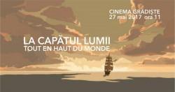 Proiecție  de film pentru copiii la Cinema Grădişte
