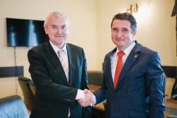Ambasadorului Republicii Belarus în vizită la Primăria Municipiului Arad
