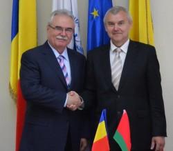 Ambasadorul Republicii Belarus, în vizita la CCIA Arad