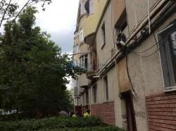 EXPLOZIE într-un bloc din Arad ! Locatarii unui bloc, la un pas de tragedie !