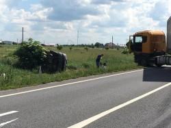 Accident GRAV pe DN. 79, aproape de intrarea în Arad