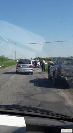 Accident rutier între Pâncota și Seleuș ! Un copil a fost rănit !