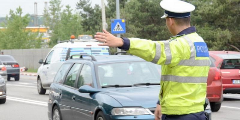 Autoturism furat din Germania, depistat în Arad de polițiști