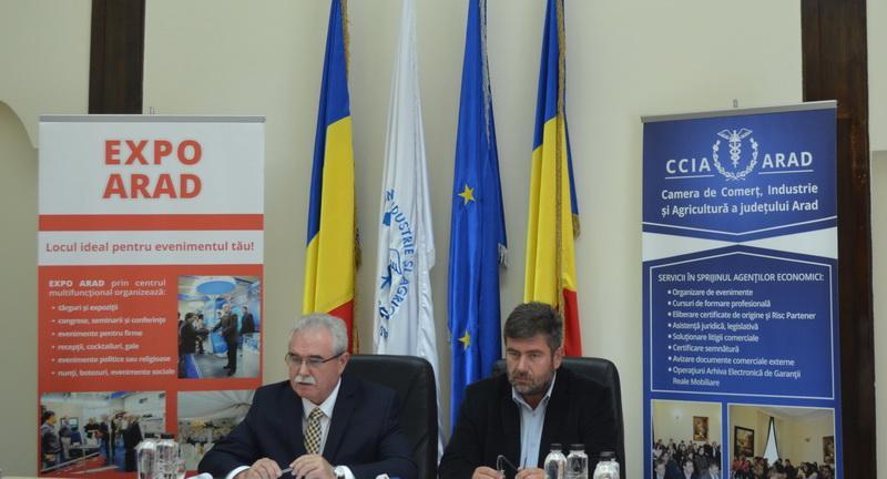 """Ziua Mondială a Expozițiilor celebrată de CCIA sub sloganul: """"Aradul, pe harta zonelor expoziționale importante"""""""