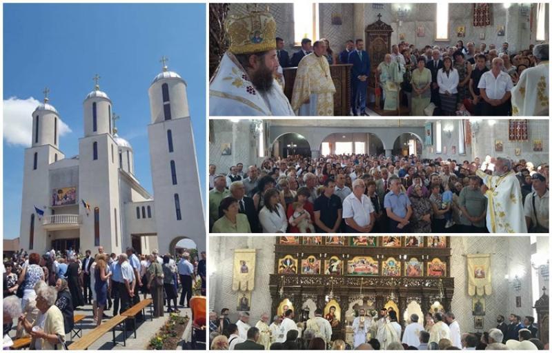 Sfințirea noului lăcaș de cult din cartierul Grădiște, Biserica Intrarea Domnului în Ierusalim