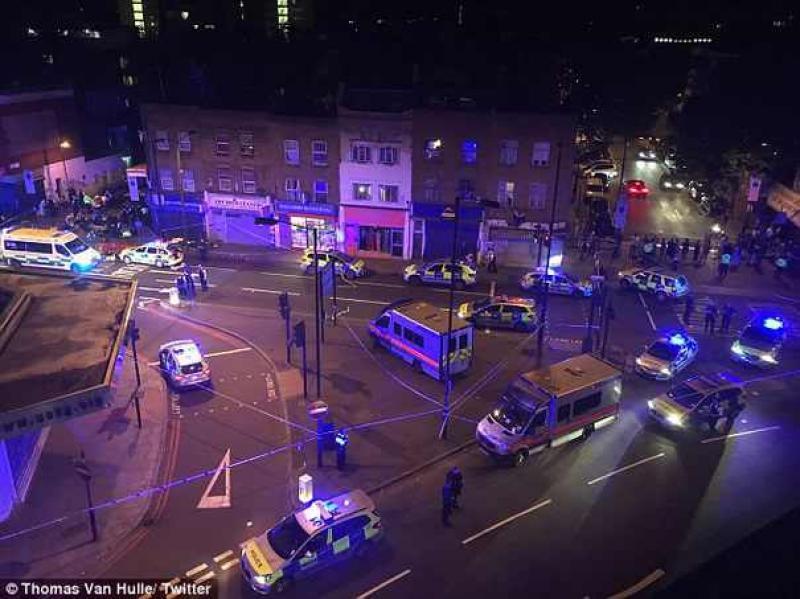 Un nou atac terorist duminica noaptea la Londra !