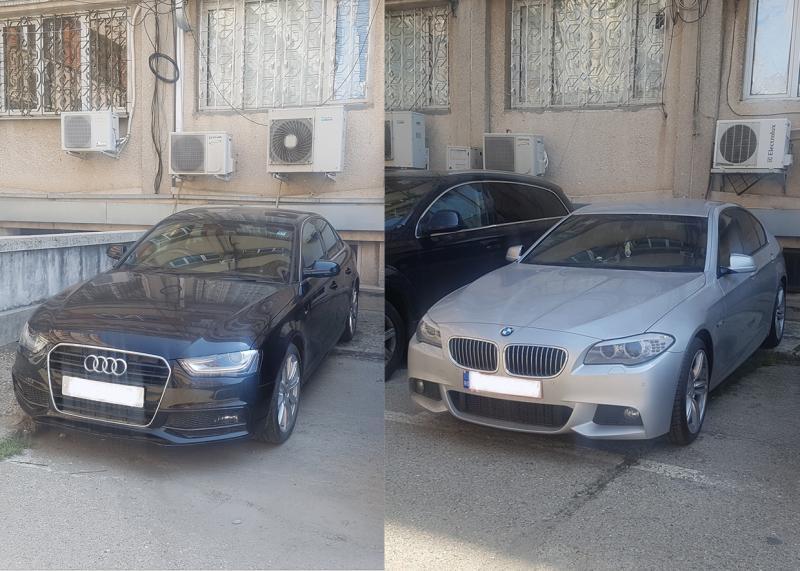 Autoturisme date în urmărire de autoritățile engleze descoperite la Arad