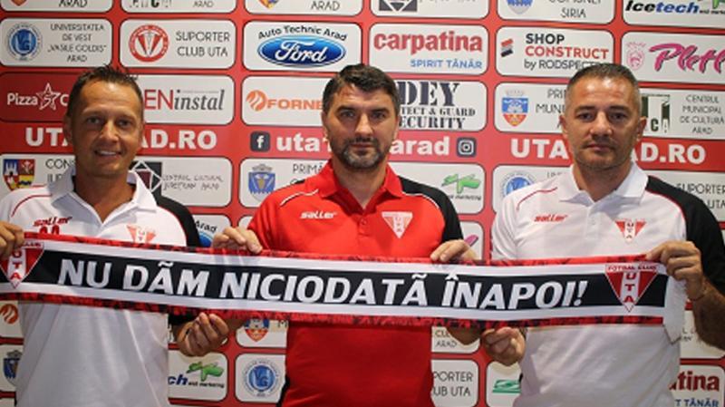 Adrian Mihalcea este noul antrenor al echipei UTA