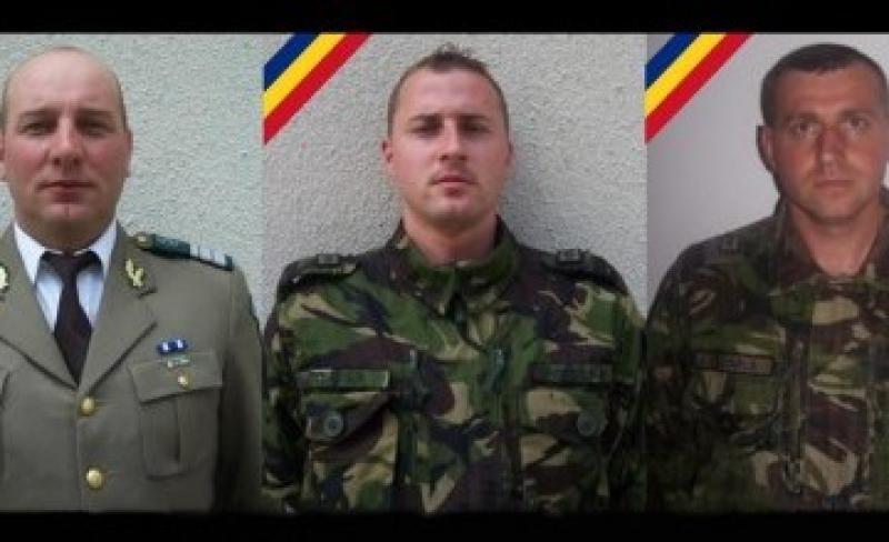 Cine sunt cei trei militari, morți în urma accidentului din Argeș !
