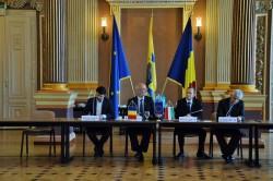 Ședința comună a Comisiilor de Cultură a orașelor Arad- Pecs