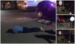 Urmăriri ca-n filmele americane pe străzile din Vladimirescu (FOTO/Video)