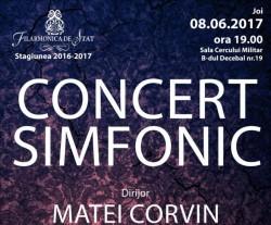 Franz Liszt Concertul nr.1 în mi bemol major pentru pian şi orchestră la Filarmonica din Arad