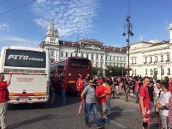 Galeria arădeană înainte de plecarea spre Timişoara (FOTO/Video)