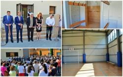 """Sala de sport a Școlii Gimnaziale """"Aron Cotruș"""" a fost inaugurată"""