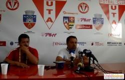 """VIDEO: Laurentiu Roşu la finalul meciului de la Şiria: """"dacă rămân vreau să duc UTA în Liga 1!"""""""