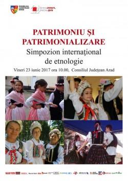 Simpozion internaţional de etnologie  la Consiliul Judeţean Arad