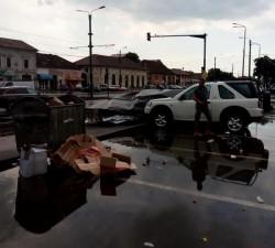 Furtuna a a făcut ravagii în mai multe zone din Arad