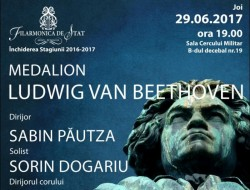 "Final de stagiune la Filarmonica din Arad: Medalion ""Beethoven"""