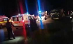 Accident grav ! Un camion cu militari s-a răsturnat într-o râpă adăncă ! Un militar a murit !