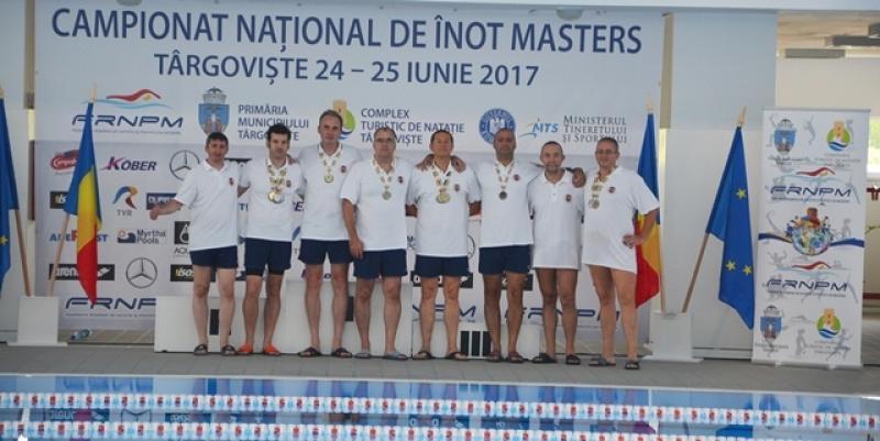 Înotătorii masters s-au remarcat la Campionatele Naţionale