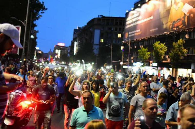Noi proteste se anunţă în această seară în marile oraşe din România