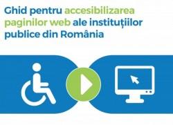 Se lansează Ghidul de accesibilizare a paginilor web din instituțiile publice