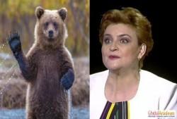 Ministrul Mediului, Graţiela Gavrilescu,  vrea să vândă blana ursului din pădure! La propriu!