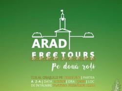 Arad Free Tours pe două roţi, Tur gratuit al Aradului pe biciclete
