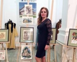 Acuarelista arădeană Aneta Beatrice Filip, va avea expoziţie personală la Castelul de la Hunedoara