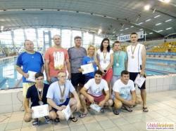 Cristian Cornea, sergent major în cadrul ISU ARAD, dublu medaliat la Campionatul Naţional de înot organizat de M.A.I.