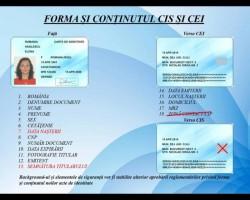 INEDIT - Formatul buletinelor biometrice, făcut public de Ministerul Afacerilor Interne