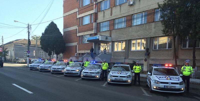 Poliţiştii arădeni la datorie în minivacanţa de Sf. Maria