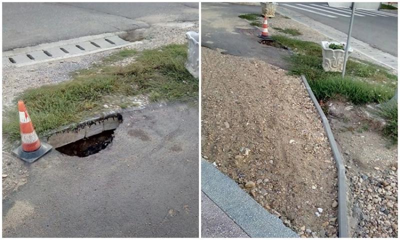 """PNL Pâncota: """"Primăria să răspundă de ce a acceptat lucrările de mântuială la pista de biciclete!"""""""