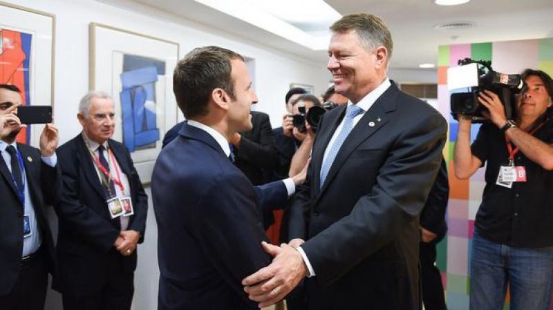 Preşedintele Franţei, Emmanuel Macron, vizită oficială în România