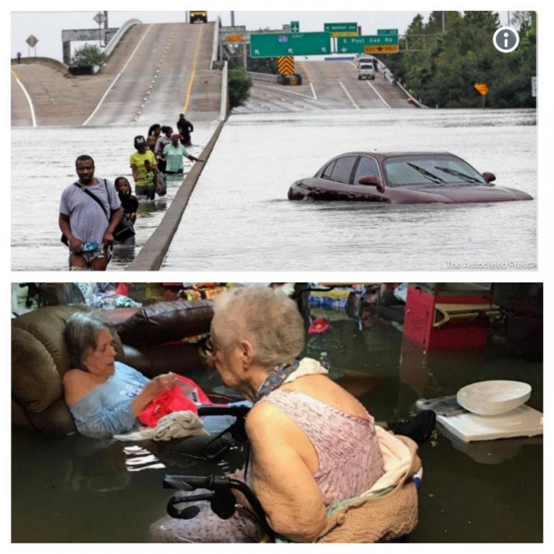 ÎNFIORĂTOR ! 56 de mii de apeluri disperate în urma uraganului ce a lovit Texas!