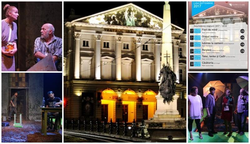 """Teatrul Clasic ,,Ioan Slavici"""" Arad pregăteşte deschiderea noii stagiuni"""