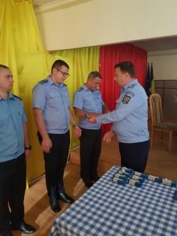 Ceremonial militar la sediul Inspectoratului de Jandarmi Județean Arad