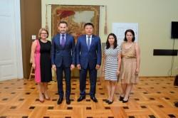 Parlamentar din Mongolia în vizită la Primăria Arad