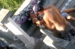 SCANDALOS! Cuplu surprins în timp ce facea sex într-un cimitir din Lugoj