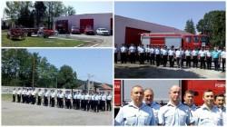 Pompieri din Bârzava au aniversat 25 de ani de existenţă